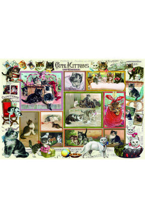 Anatolian Puzzle Sevimli Kediler,komik Köpekler 500 Parça Puzzle 2