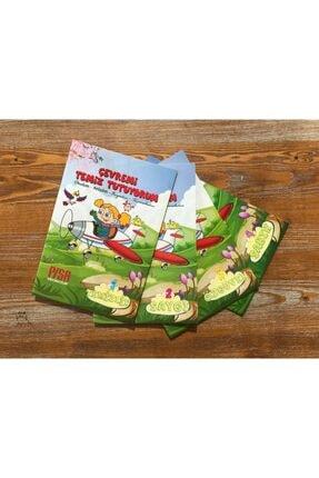 Harika Çocuk Yayınları 4 - 7 Yaş Boyamalı Değerler Eğitimi Hikaye Seti 4 Kitap 1