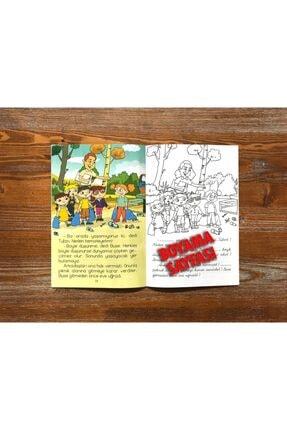 Harika Çocuk Yayınları 4 - 7 Yaş Boyamalı Değerler Eğitimi Hikaye Seti 4 Kitap 3