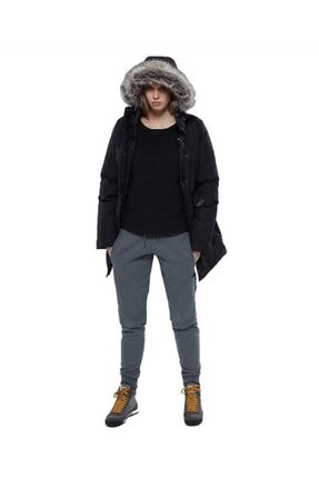 The North Face Kadın Siyah Brooklyn Parka Mont 2