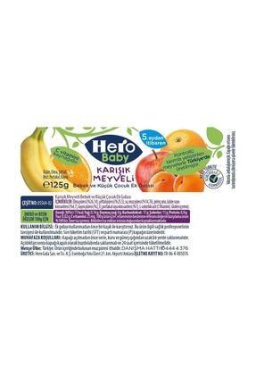 Hero Baby Karışık Meyveli Kavanoz Maması 125 gr 2
