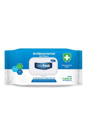 Deep Fresh Antibakteriyel Islak Mendil 56 Yaprak 0