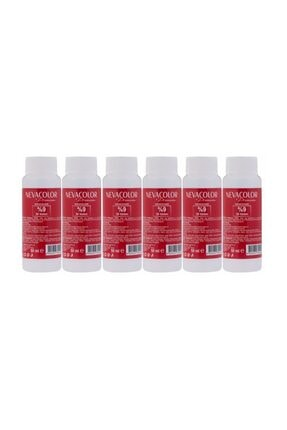 Neva Color Nevacolor Oksidasyon Kremi 50 Ml - 30 Volüm %9 6'lı 0