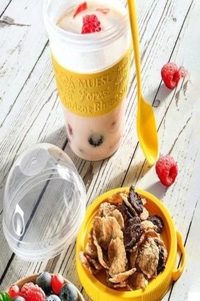 Nestle Karışık Meyveli Kahvaltılık Gevrek 800 Gr. + ( Take And Go Müsli Kabı 600 Ml Hediyedir) 1
