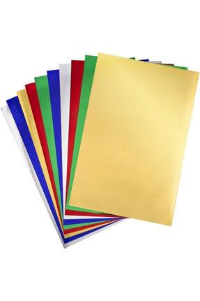 nova color Aynalı Karton 10 Renk 20x30 cm 1