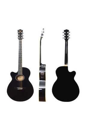 Extreme Gitar Akustik Solak Sahne Gitarı (xaclh45eq4bk) 1