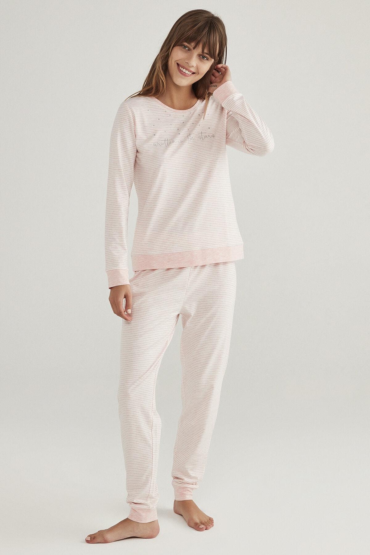 Penti Stripy Pijama Takımı 0