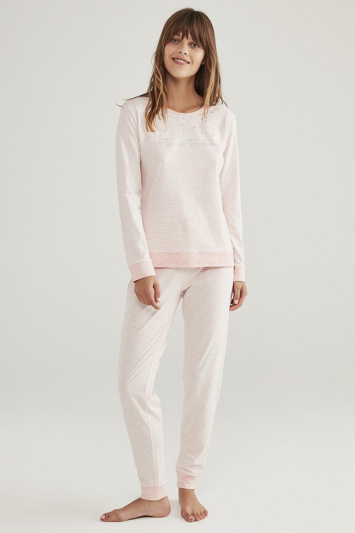 Penti Stripy Pijama Takımı 1