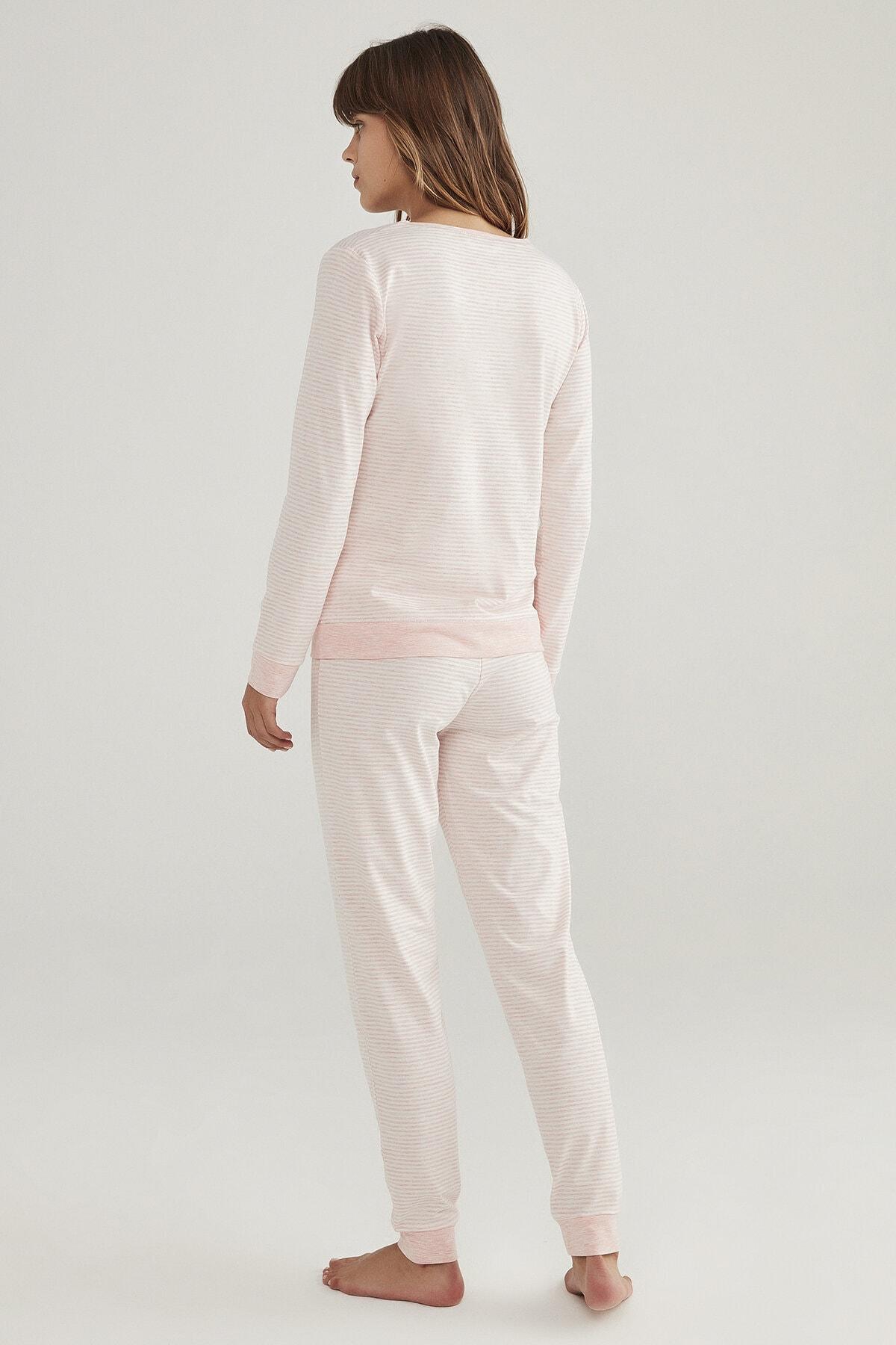 Penti Stripy Pijama Takımı 4