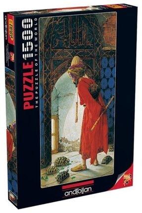 Anatolian Puzzle Kaplumbağa Terbiyecisi 1500 Parça Puzzle 3755 0
