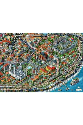 Anatolian Puzzle Fractal Istanbul 3000 Parça Puzzle 4913 1