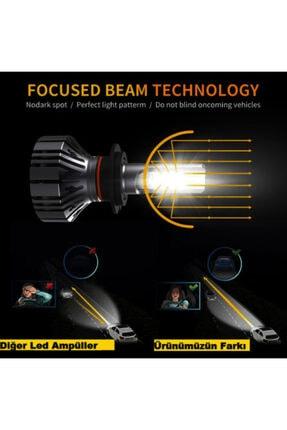 Kelvin Auto Kelvın H1 Led Xenon Far Ampul Şimşek Etkili Beyaz Güçlü Far 4