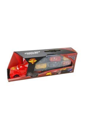 Cars Arabalar Şimşek Mcqueen Tırı + 6 Adet Araba Seti 6lı 56565326