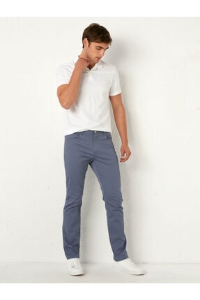 LC Waikiki Erkek Mavi Pantolon 0