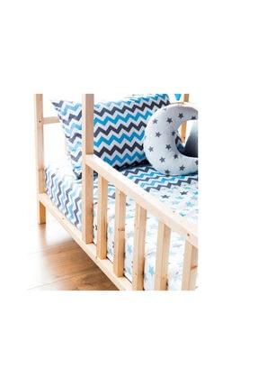 Baby Kinder Roofed Montessori Bebek & Çocuk Karyolası 3