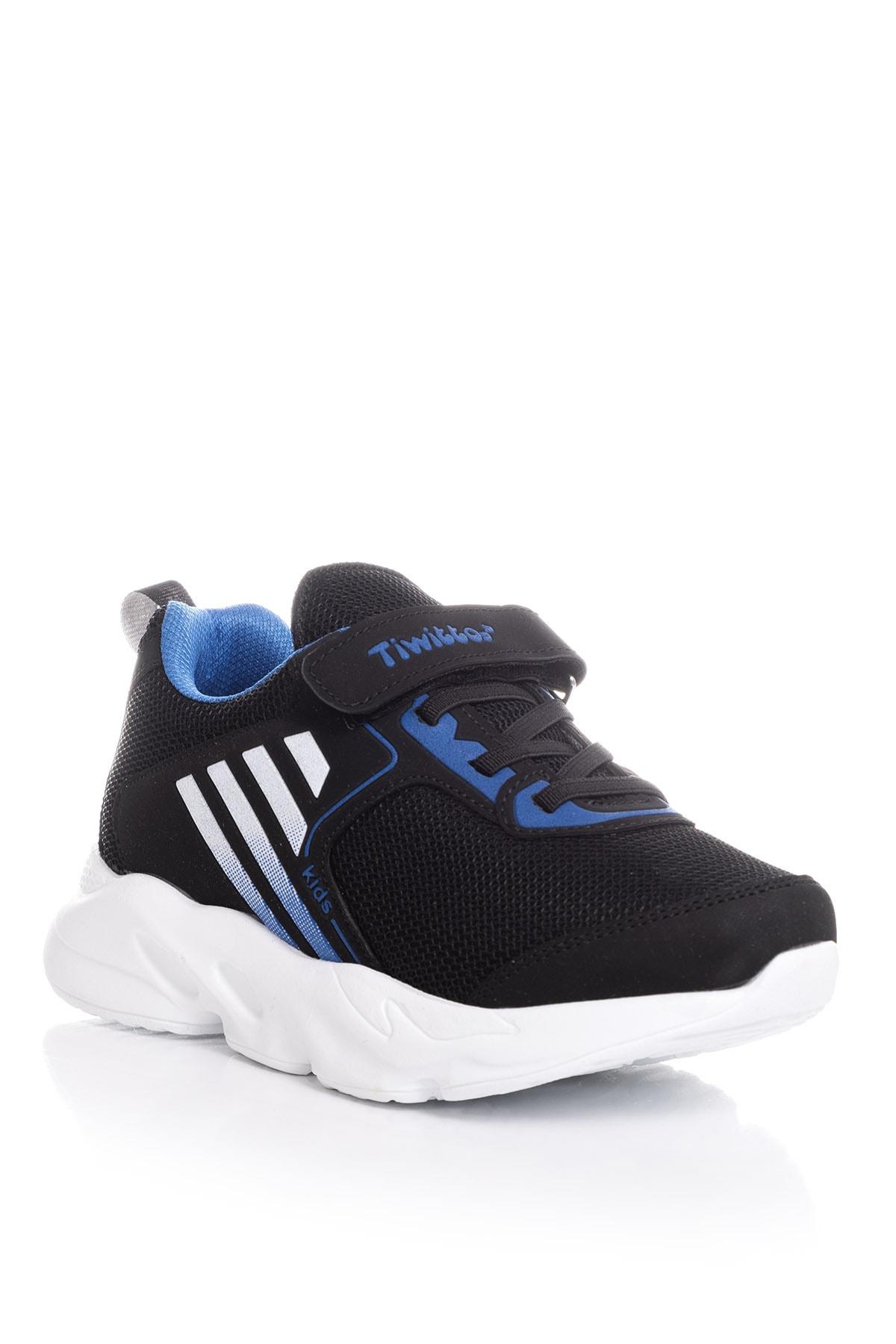 Tonny Black Siyah Sax Unisex Çocuk Sneaker TBZ05-3 1
