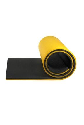 Walke 16 Mm Pilates Kamp Matı Sarı Siyah Taşıma Askılı 2