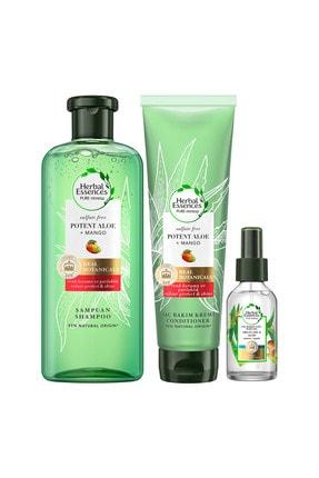 Herbal Essences Sülfatsız Saç Bkm Set(Şmp+Krem+Saç Bkm Yağ) 1
