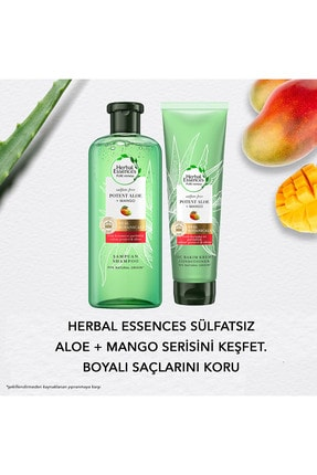 Herbal Essences Sülfatsız Saç Bkm Set(Şmp+Krem+Saç Bkm Yağ) 4