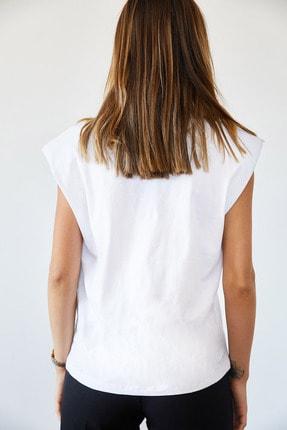 XHAN Vatkalı Basic Tişört 0YXK2-43401-01 3