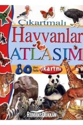İş Bankası Kültür Yayınları Çıkartmalı Hayvanlar Atlası 0