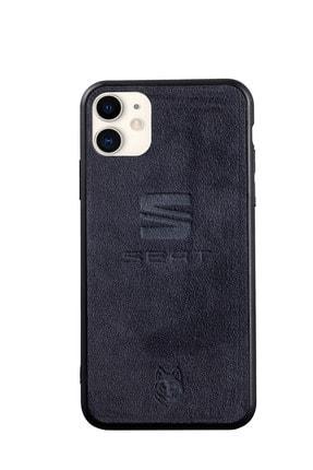 Wolf Luxury Accessories Iphone 11 Uyumlu Seat Logolu Telefon Kılıfı 0