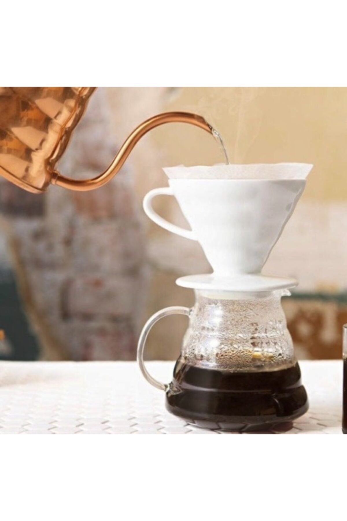 V60 Filtre Kahve Demleme Seti / Pour Over Dripper Set