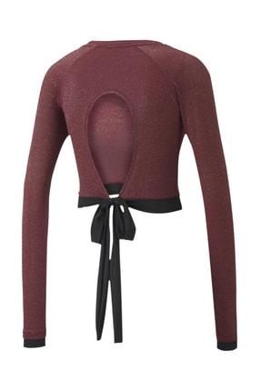 Puma Kadın Spor Sweatshirt - Studio Metallic LS - 51951502 1