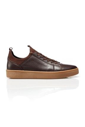 Alba Kahve Crep Hakiki Deri Erkek Ayakkabı 0