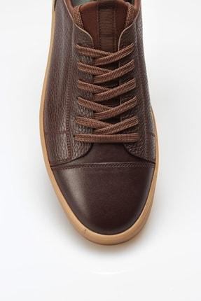 Alba Kahve Crep Hakiki Deri Erkek Ayakkabı 3