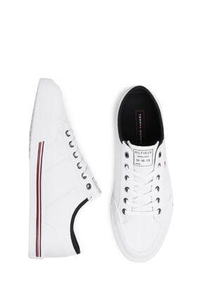 Tommy Hilfiger Erkek Beyaz Sneaker Fm0fm02676 4
