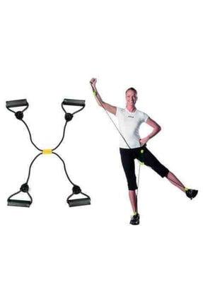 Hibrit Shop Body Shaper Kol Bacak Egzersiz Spor Aleti Lastik 0