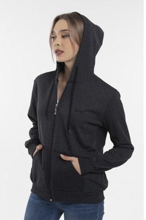 Slazenger SANTO Kadın Sweatshirt K.Gri 1