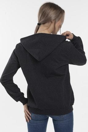 Slazenger SANTO Kadın Sweatshirt K.Gri 2