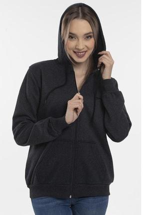 Slazenger SANTO Kadın Sweatshirt K.Gri 4