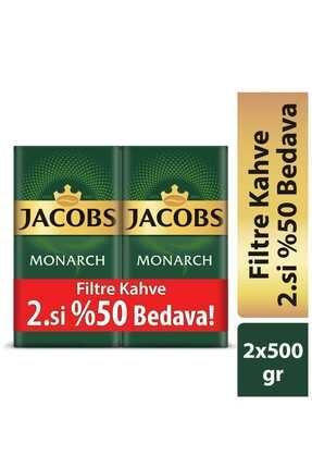 Jacobs Monarch Filtre Kahve 2 X 500 Gr 0