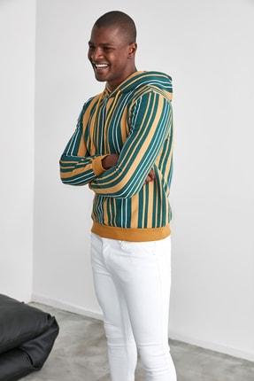 TRENDYOL MAN Hardal Erkek  Sweatshirt TMNAW21SW0996 1