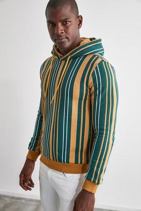 TRENDYOL MAN Hardal Erkek  Sweatshirt TMNAW21SW0996 3