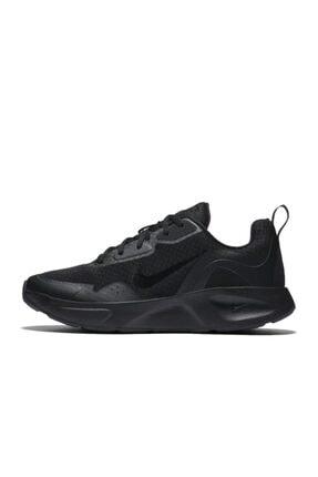 Nike Kadın Siyah Wearallday Spor Ayakkabı Cj1677-002 1