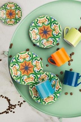 Kütahya Porselen Rüya 898301 Desen Kahve Fincan Takımı 0