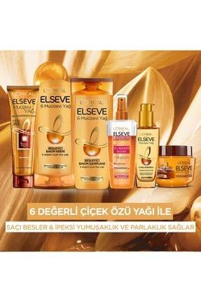Elseve L'oréal Paris Mucizevi Yağ Saç Güzelleştirici Krem 150 Ml - Kuru Ve Sert Saçlar 4