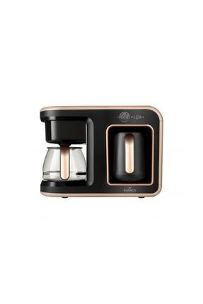 Karaca Hatır Plus 2 in 1 Rosie Brown Kahve Makinesi 1