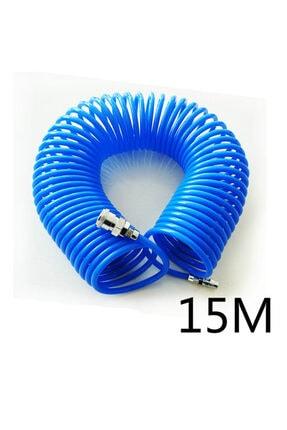 Spirale Kompresör Spiral 15 Metre Hava Hortumu Ve Tabancası 1