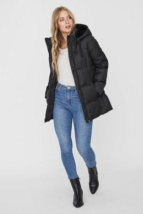 Vero Moda Kadın Siyah Regular Fit Şişme Mont 10231086 1