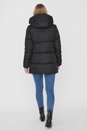 Vero Moda Kadın Siyah Regular Fit Şişme Mont 10231086 3