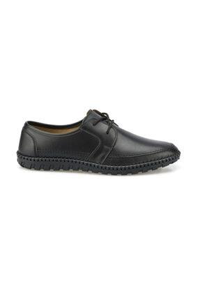 Polaris 102093.M Siyah Erkek Klasik Ayakkabı 100500739 1