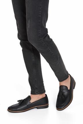 Muggo Erkek Siyah Günlük Ayakkabı 1