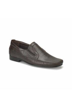 Flogart Erkek Kahverengi Hakiki Deri Ayakkabı 0