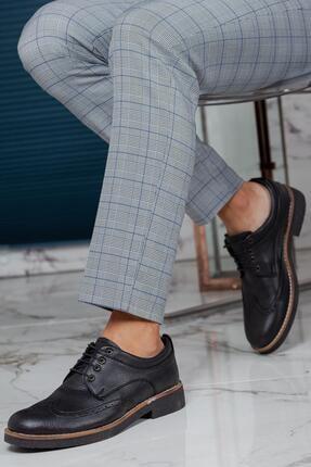 Muggo Erkek Siyah Casual Ayakkabı M260 3