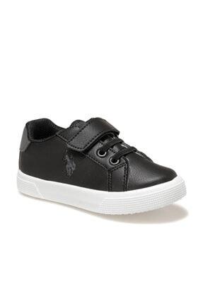 US Polo Assn WELLINA Siyah Erkek Çocuk Sneaker Ayakkabı 100551908 0